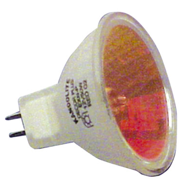 18 x Halogen Dichroic Red 50 W 12 V MR16 High Quality Effects Lamps