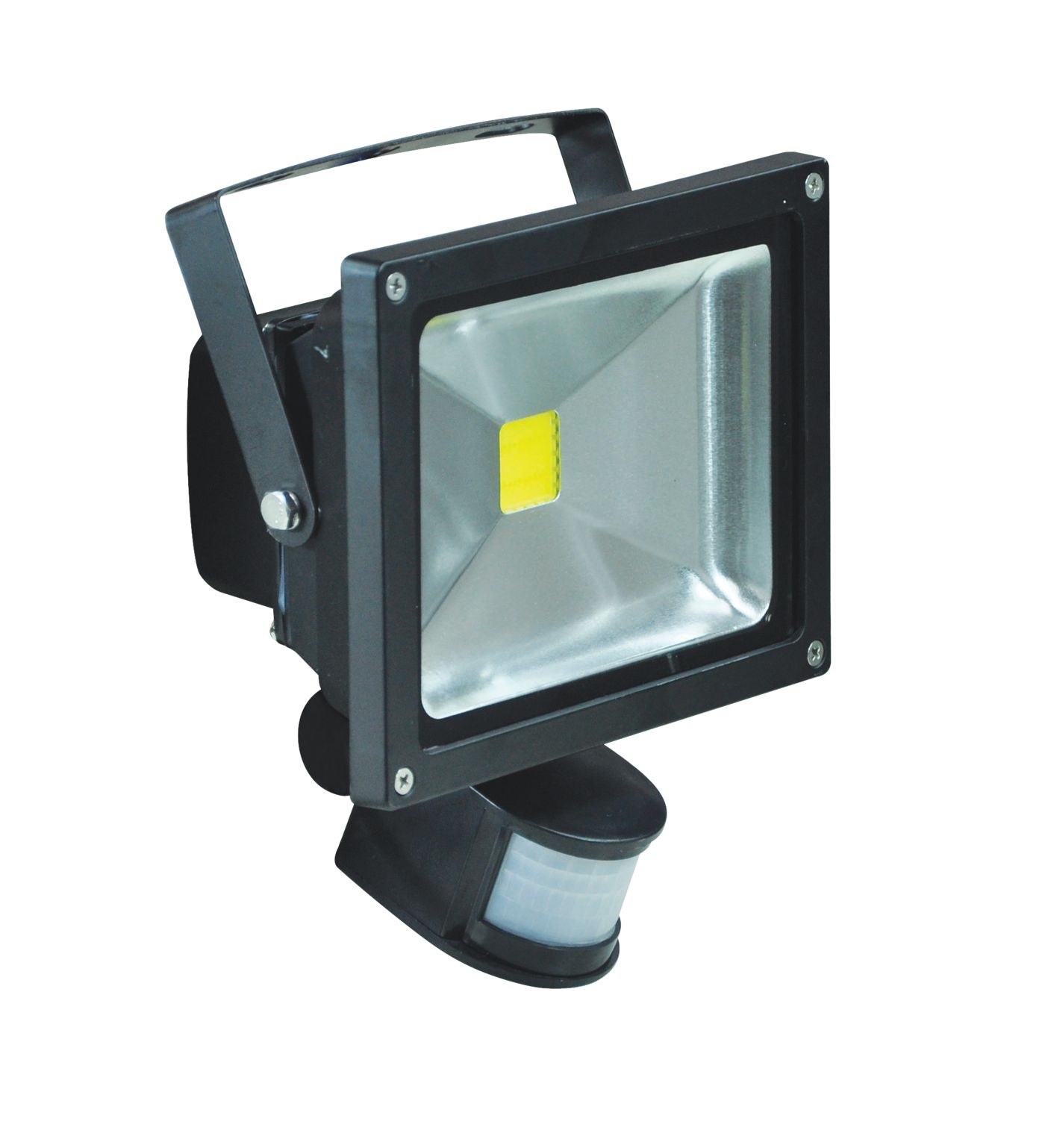 20w led security led flood light with pir sensor l320b. Black Bedroom Furniture Sets. Home Design Ideas