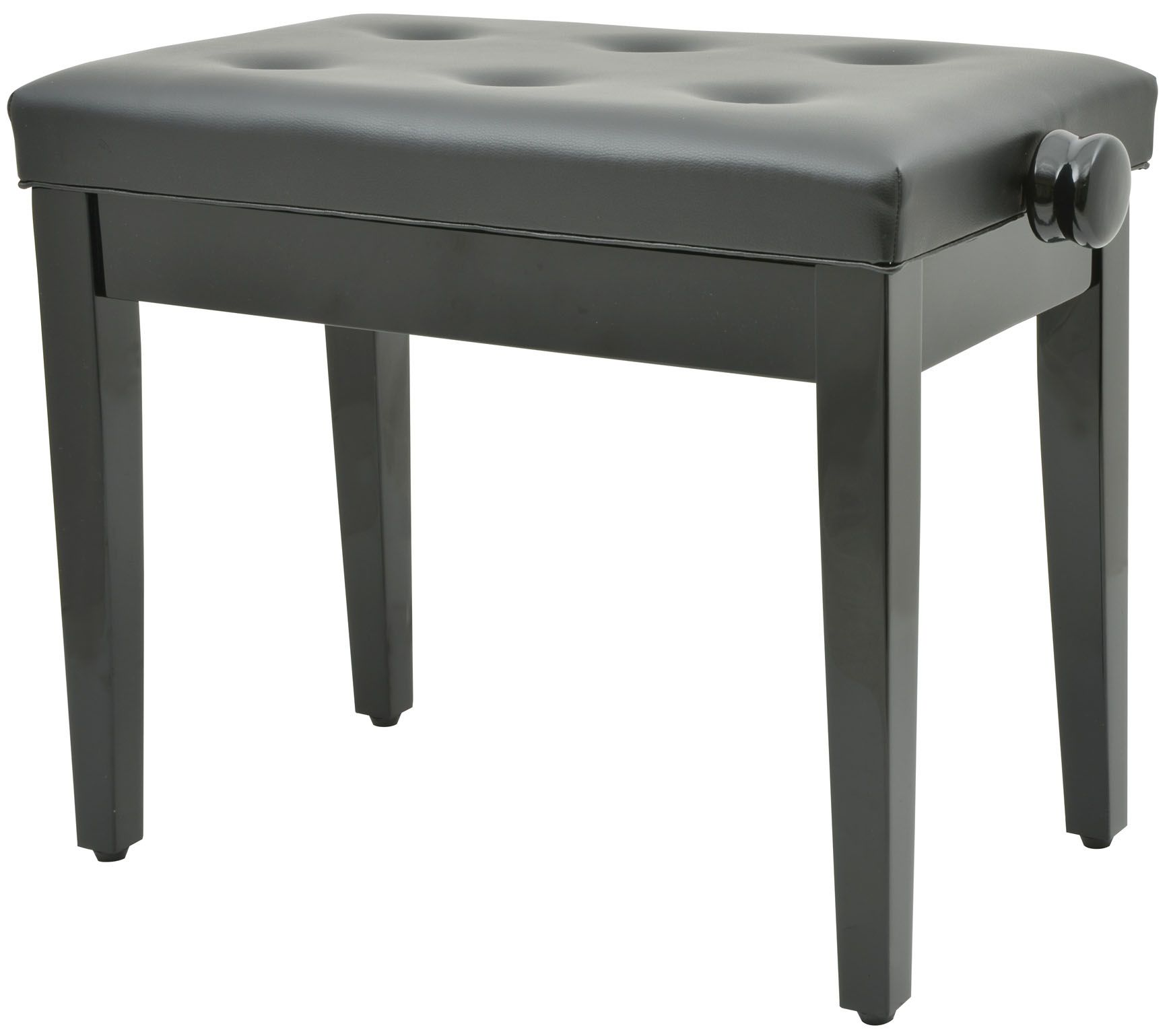 Piano Keyboard Bench Stool Seat In Black 180 250uk