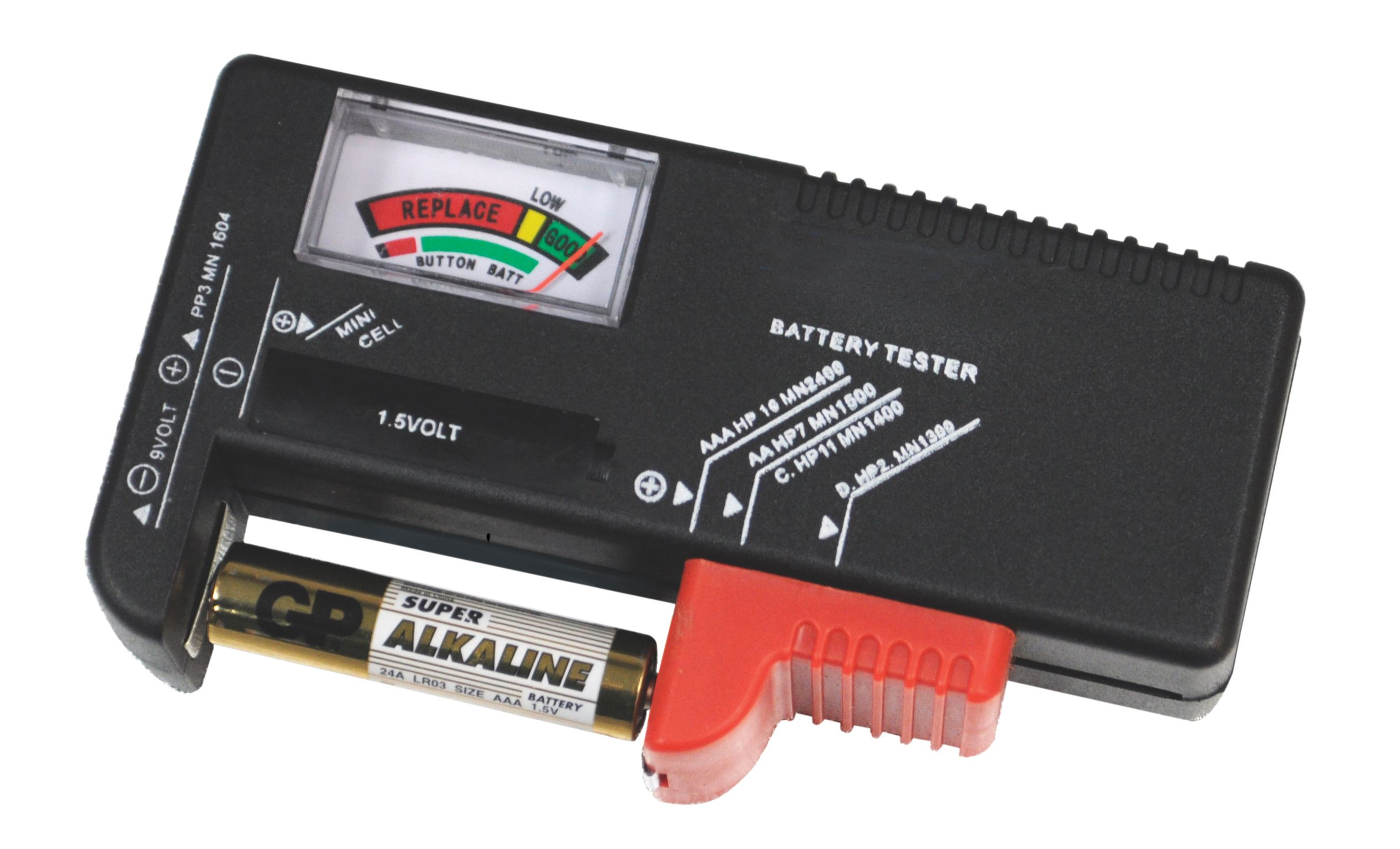 Battery Capacity Test : Universal battery capacity tester for v button