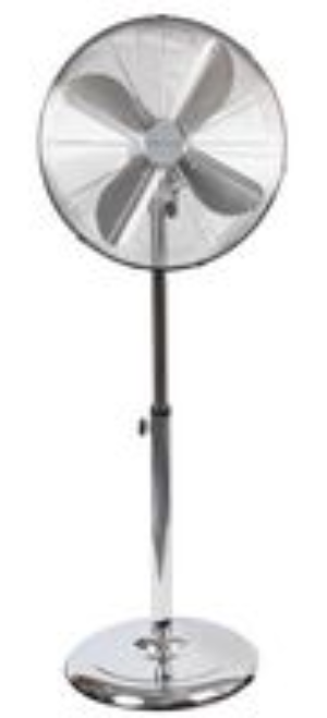 "16"" Metal Reto Style Pedestal 3 Speed Fan With Tilt Head -  PEL00305"