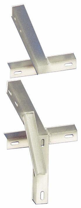 "18"" Galvanised Heavy Duty T and K Aerial / Antenna  Bracket"