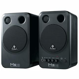 2-WAY BEHRINGER MS-16 ACTIVE MONITOR or STUDIO SPEAKERS - MS16
