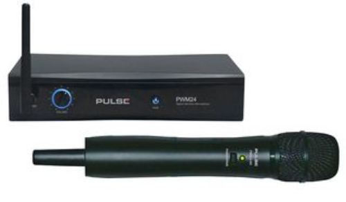 2.4GHz Wireless Handheld Microphone System -  PWM24-HH - MP35214