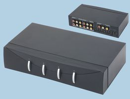 4 Way Audio Video Selector