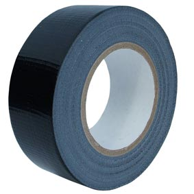 50M Roll Black Gaffa/ Duck Tape