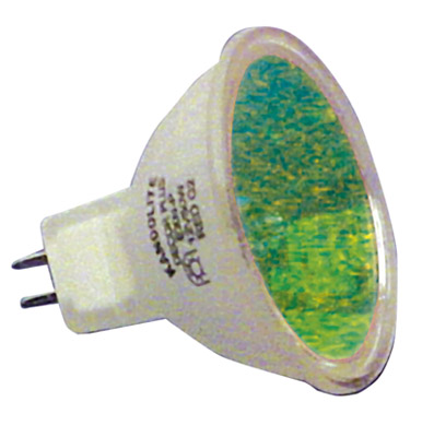 8 x Halogen Dichroic Green 50 W 12 V MR16 High Quality Effects Lamps