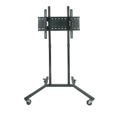 "Black Trolley with Universal Flat Screen TV Bracket for screen sizes between 30"" and 60"""