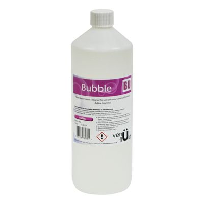 Bubble Machine Liquid Fluid Solution 1Ltr Bottle - FL801