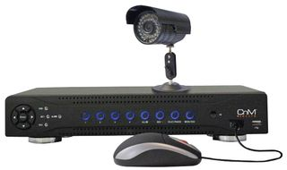 CNM SECURE CCTV 160GB DVR and COLOUR CAMERA