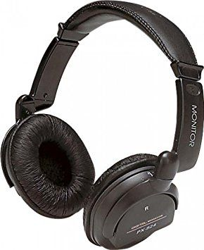Commtel Digital Stereo Headphones with Volume Controls A084G
