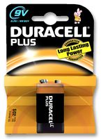 Duracell 9V PP3 Battery (Single)