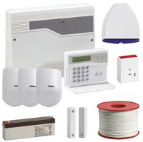 Honeywell 8 Zone Installation Burgular Alarm Kit