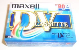 Maxell DVC Camcorder tape 80 min