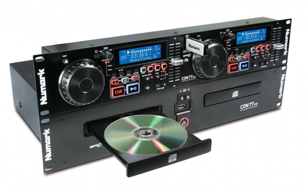 Numark CDN77USB CD Mp3 Twin Deck