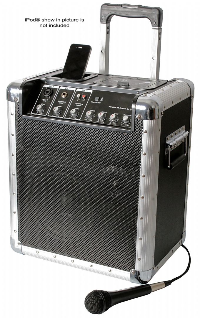 PULSE Trekker i300 Portable PA System with iPod® Dock