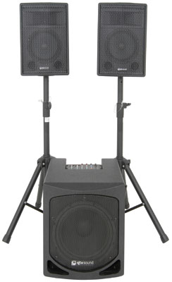 QL SERIES 2.1 ACTIVE PA System 1000W Version - 178.554UK