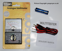Rolson Analogue Multimeter YX-1000A - FREE UK POSTAGE
