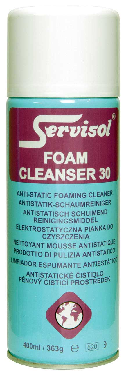 SERVISOL FOAM CLEANSER 30 400ml