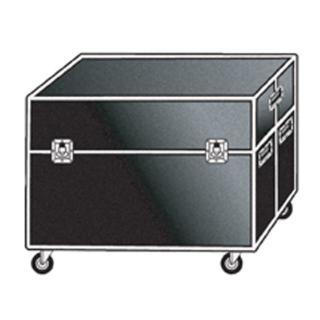 Twin Plasma Semi Flight Case